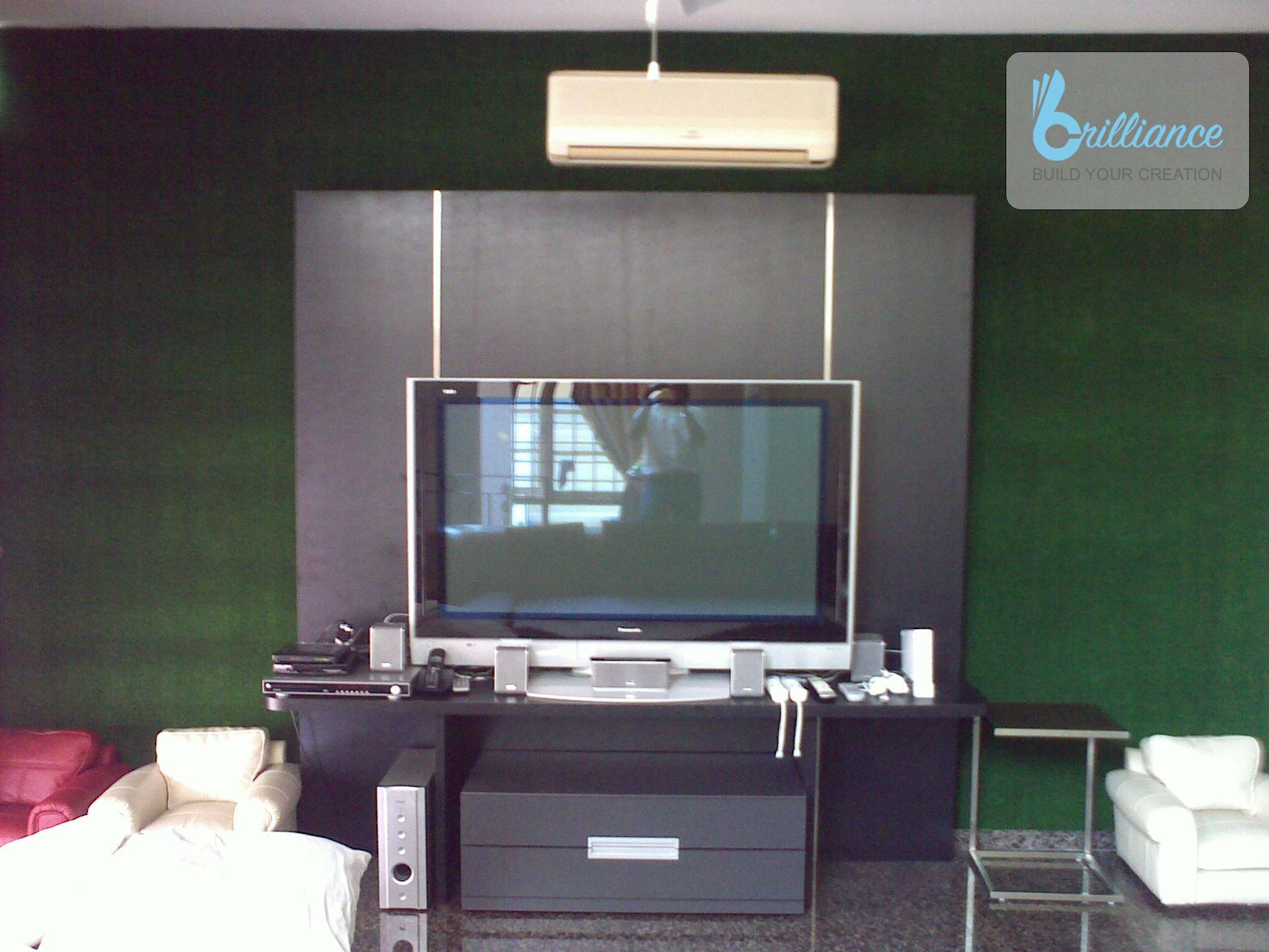 Langsat Road Renovation by Brilliance - TV console 2
