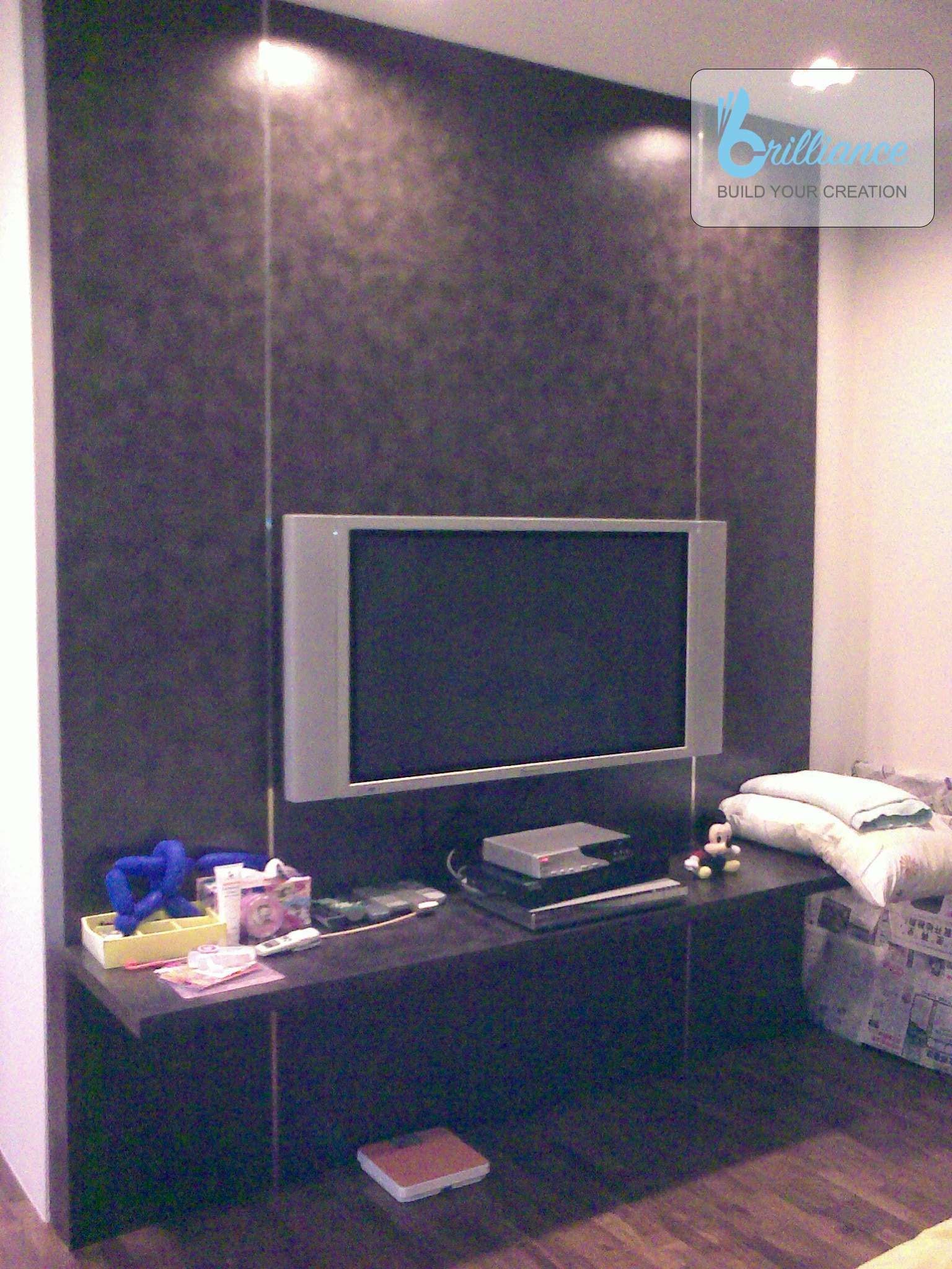Langsat Road Renovation by Brilliance - TV console