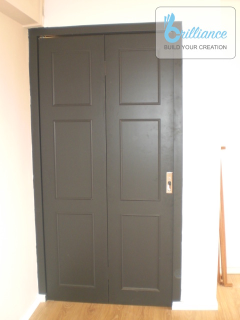 Bedok North HDB Renovation by brilliance - door