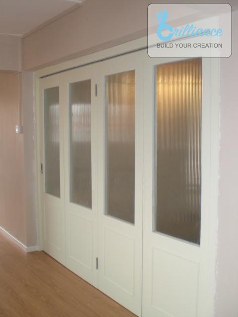 Bedok North HDB Renovation by brilliance - doors