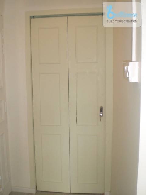 Bedok North HDB Renovation by brilliance - room door
