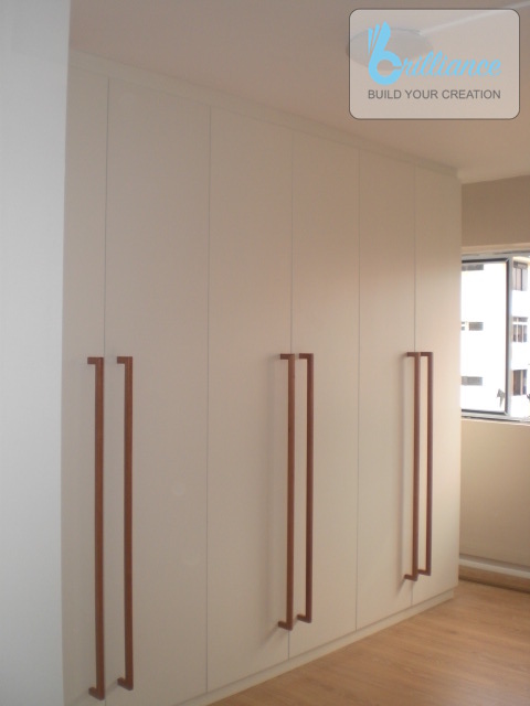 Bedok North HDB Renovation by brilliance - wardrobe