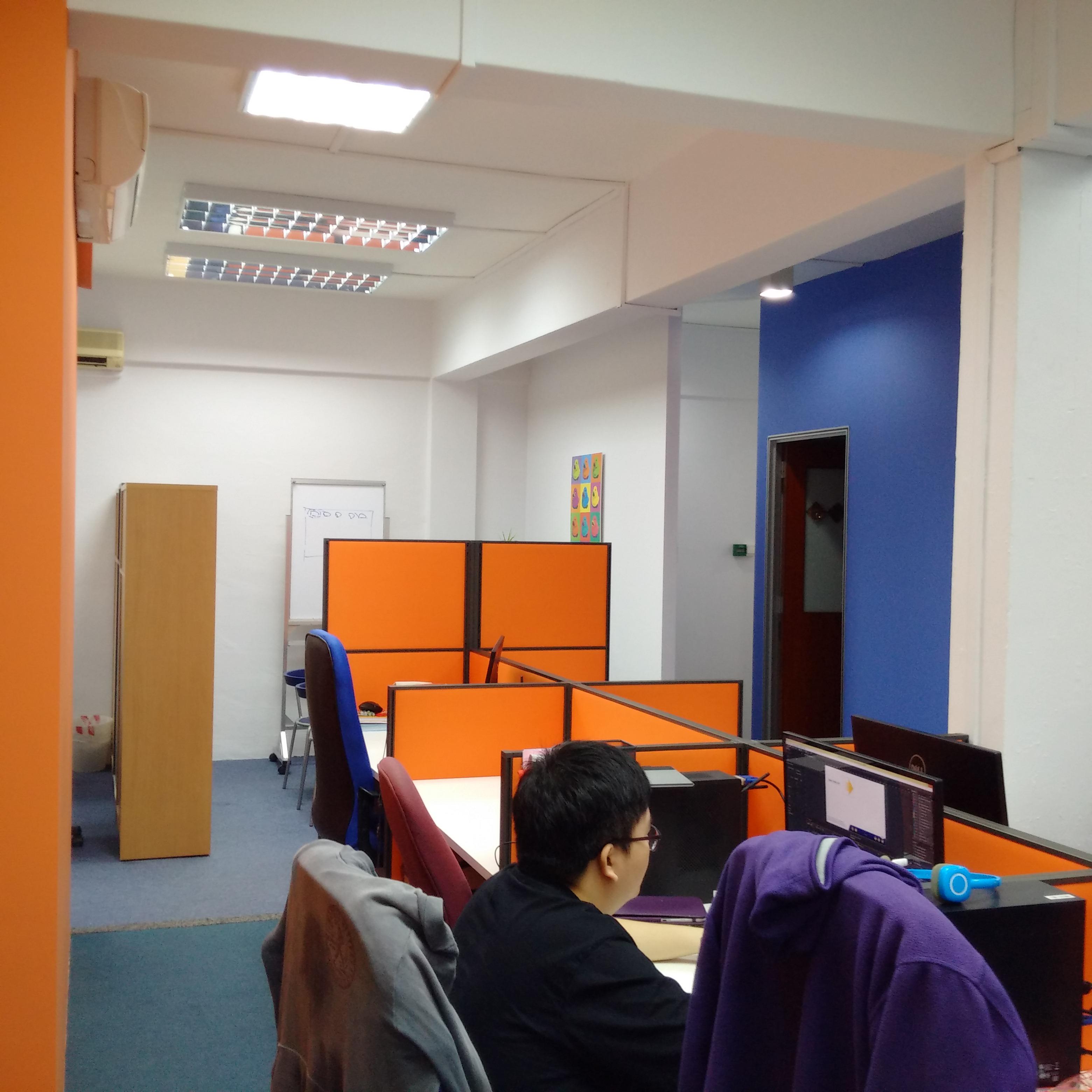 Bukit Merah Office Renovation - meeting