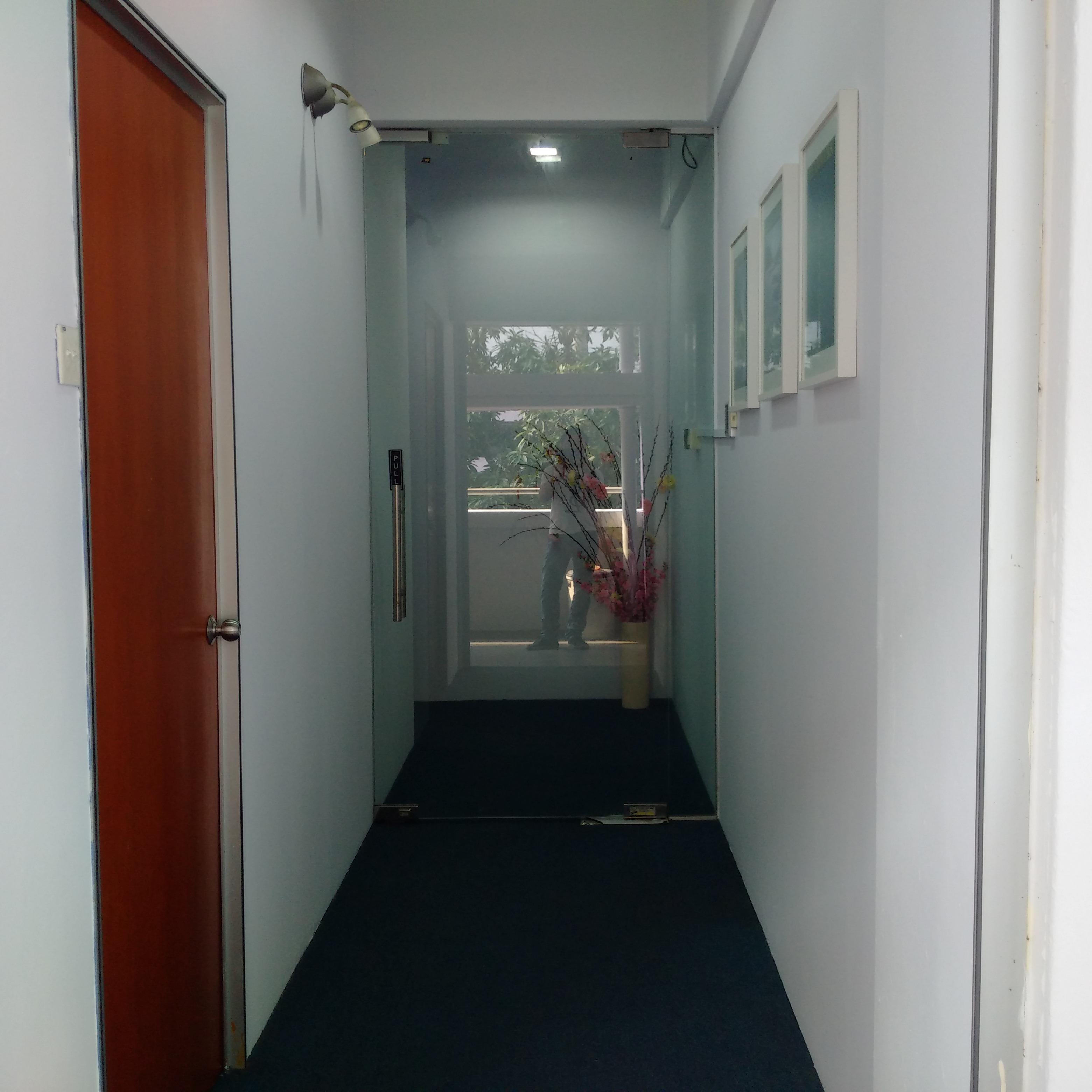 Bukit Merah Office Renovation - walkway