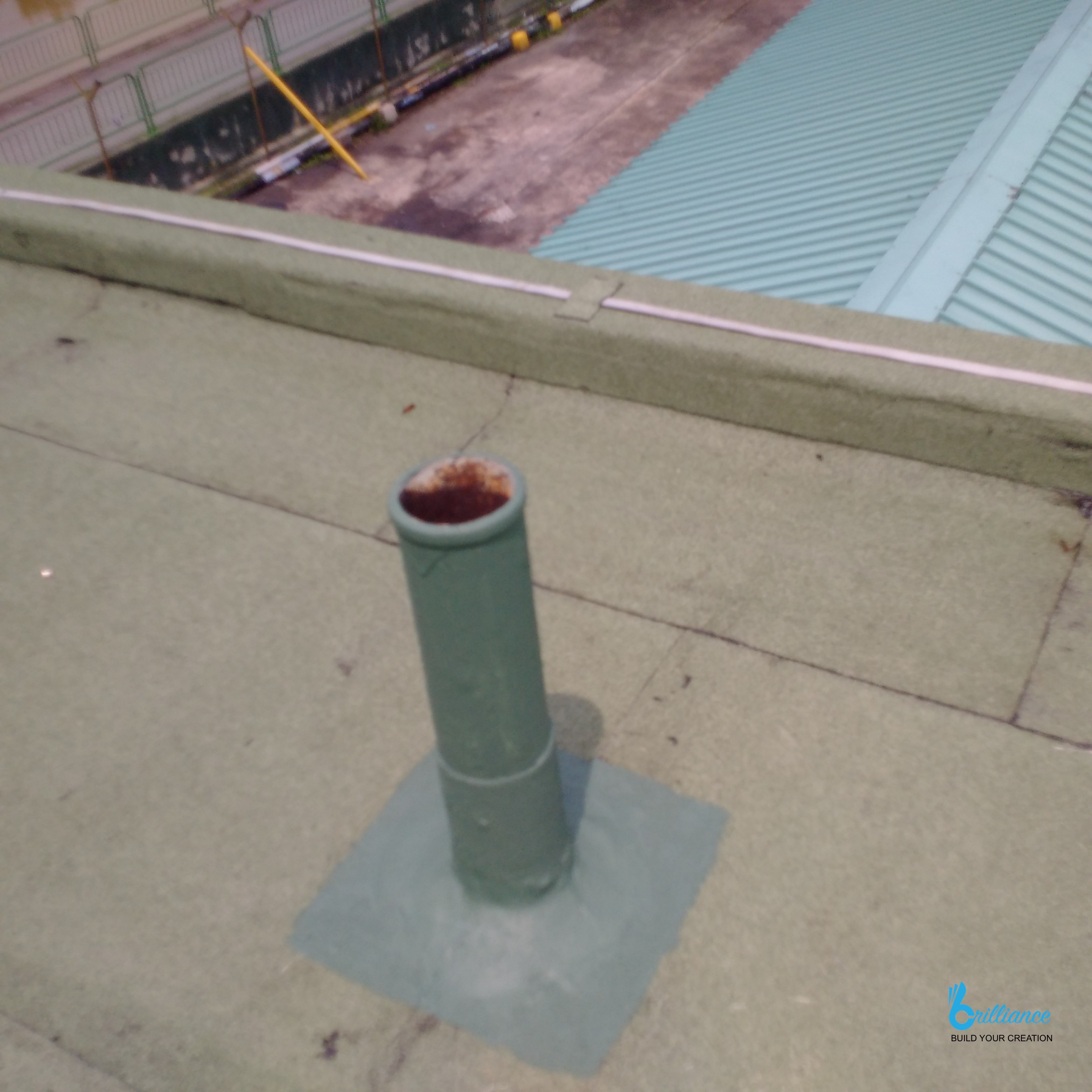 Factory roof waterproofing Khong Guan by Brilliance -6