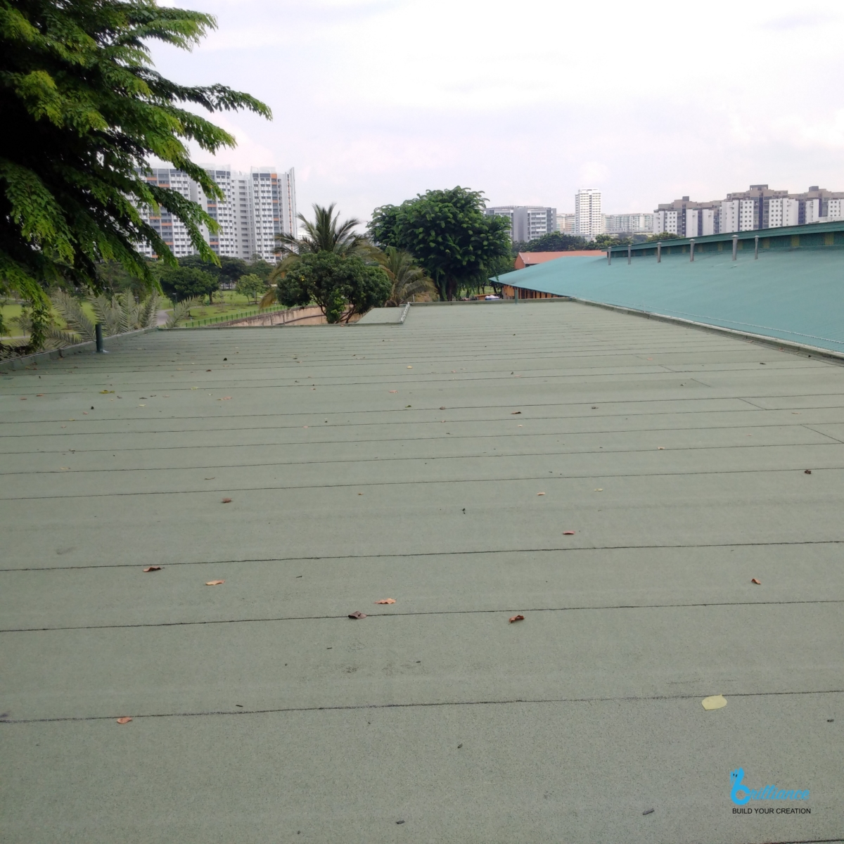 Factory roof waterproofing Khong Guan by Brilliance -9