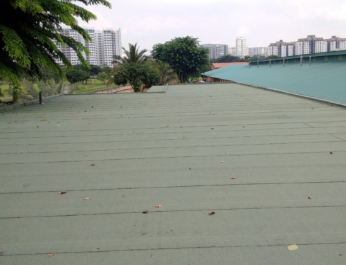 Roof Waterproofing at Khong Guan Factory