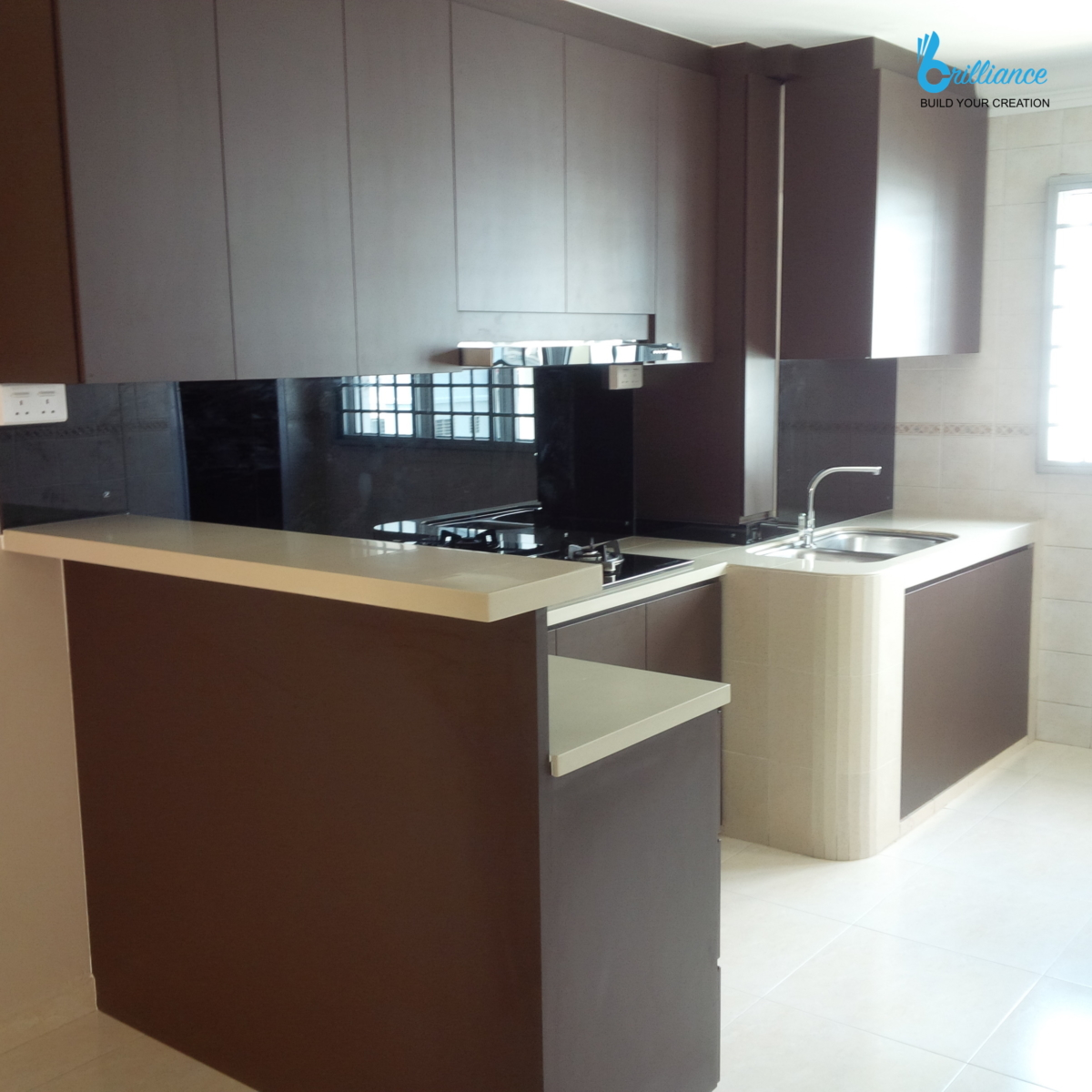 HDB Renovation Yishun St 21 by Brilliance - kitchen