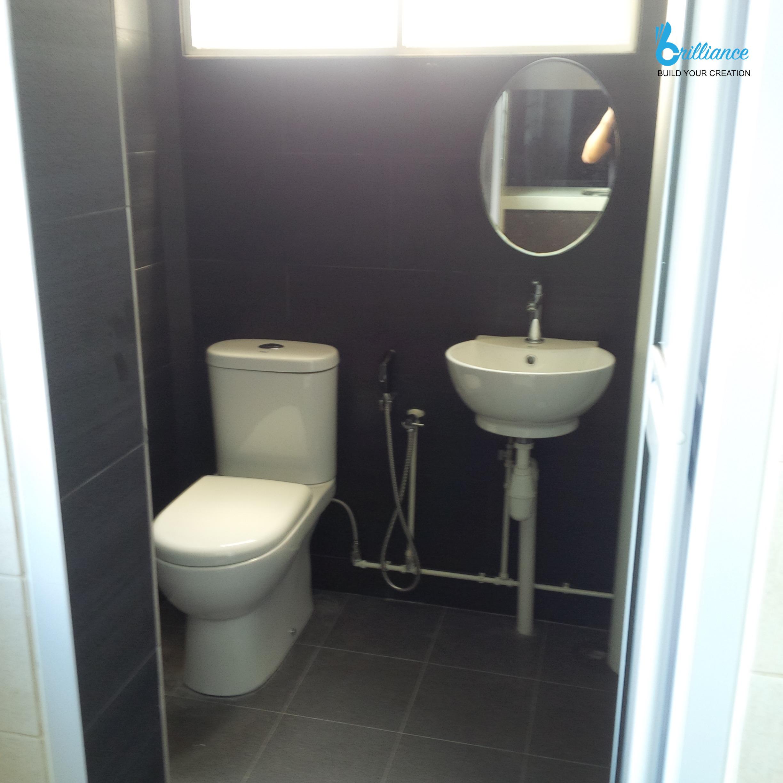 HDB Renovation Yishun St 21 by Brilliance - sanitary