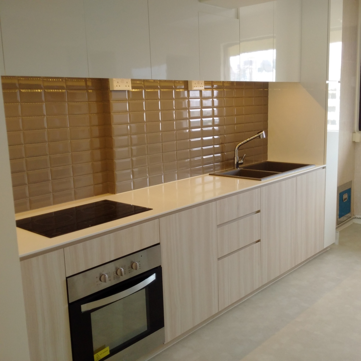 HDB Renovation at Toa Payoh by Brilliance - kitchen interior
