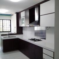 HDB Renovation at Yishun St 11 by Brilliance -kitchen