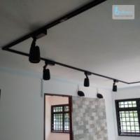 HDB renovation at Ghim Moh - Track light