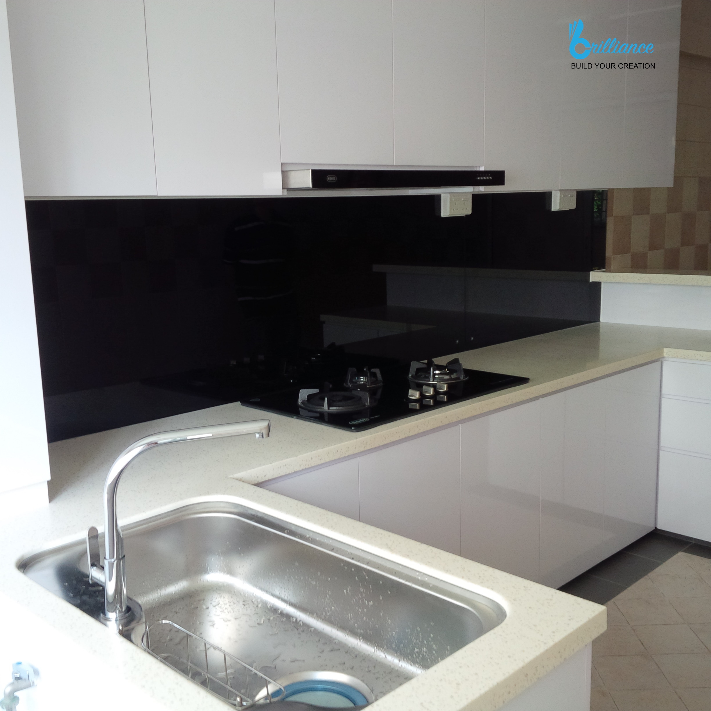 HDB renovation at Hougang ave 10 - kitchen