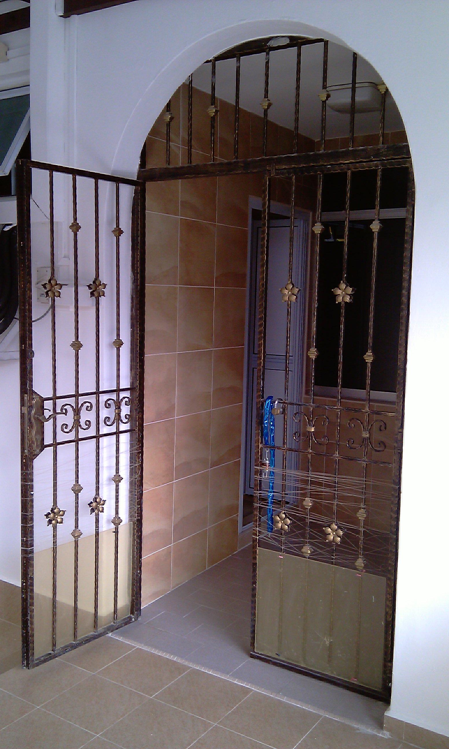 Landed Property Renovaton at Lorong Melayu by Brilliance - main door