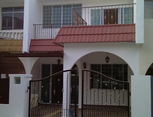 Alteration and Addition Works at Lorong Melayu by Brilliance