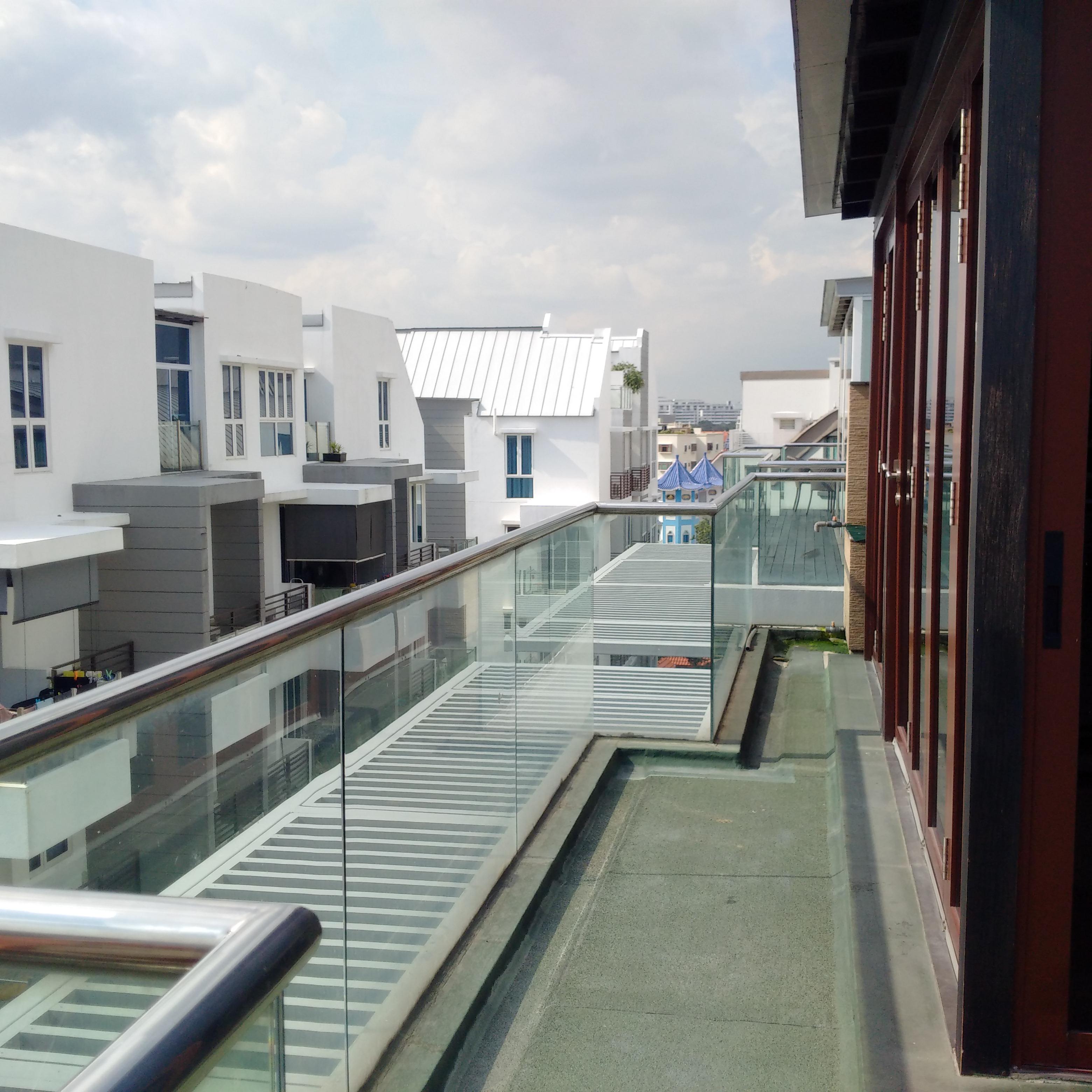Landed Property at Palm Vista by Brilliance -balcony