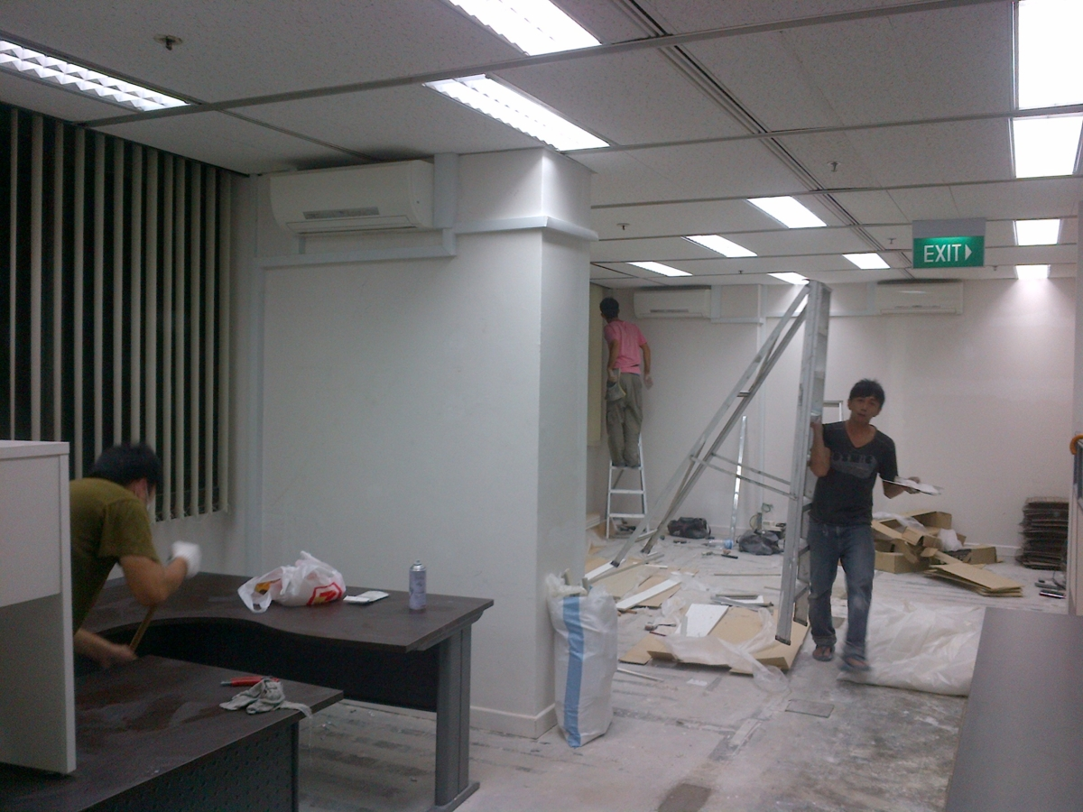 Office renovation at Clifford Centre - 1