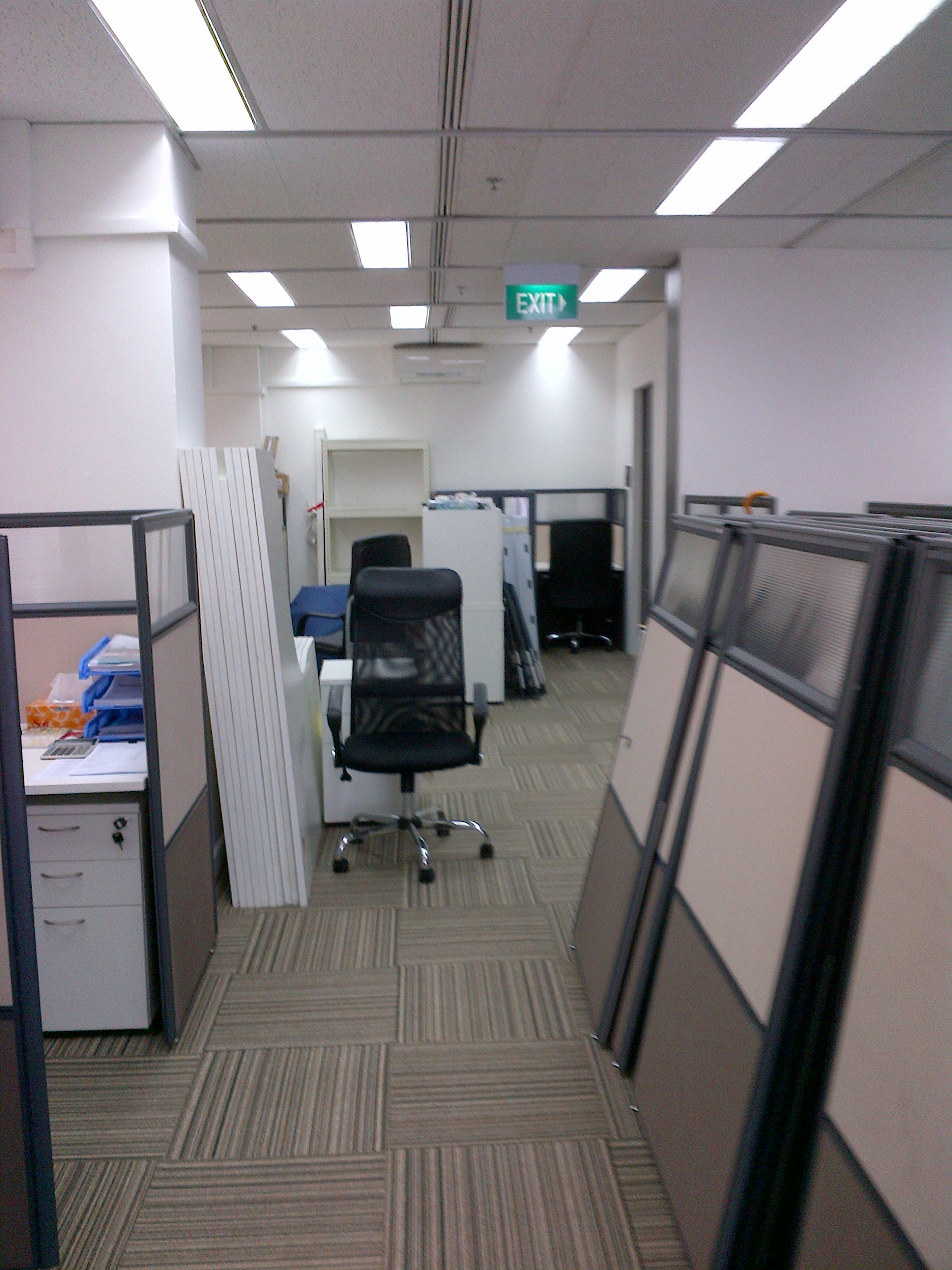 Office renovation at Clifford Centre - 2