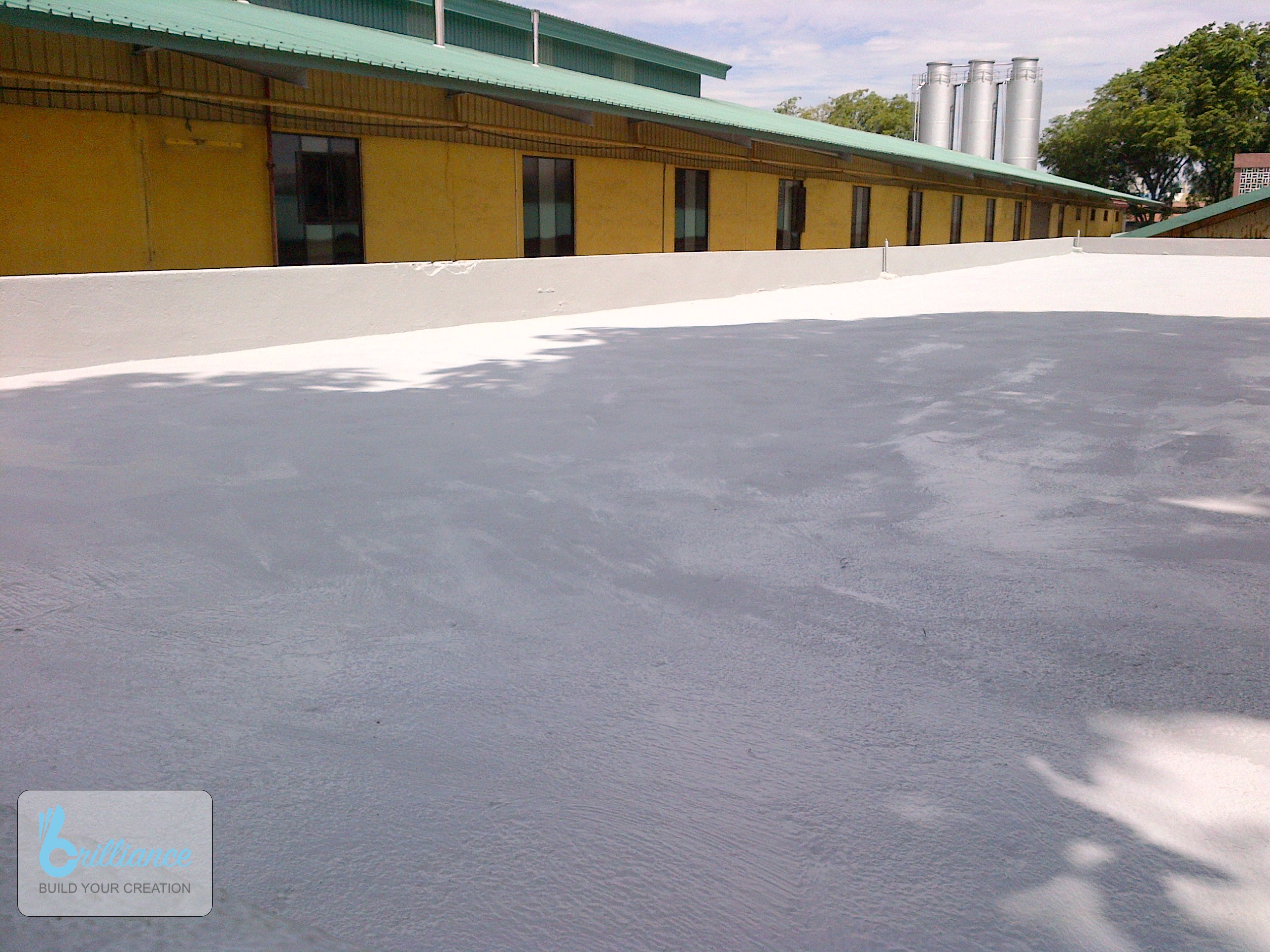 facilities facelift by Brilliance - Roof