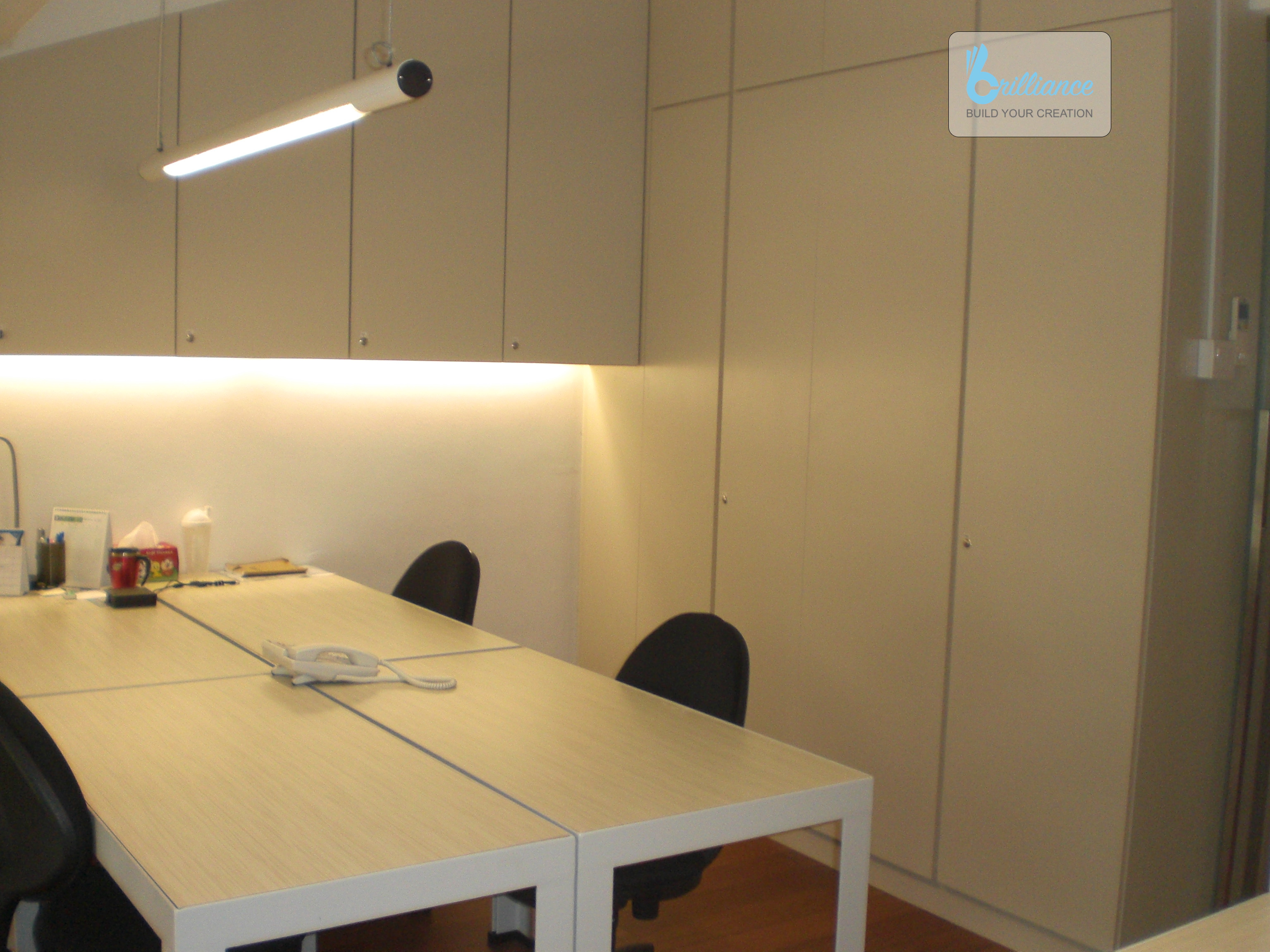 office renovation at neil road by Brilliance - meeting